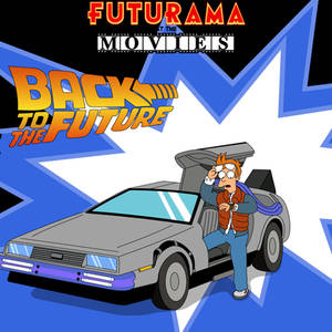 Futurama at the Movies - Back to the Future by Spider-Matt