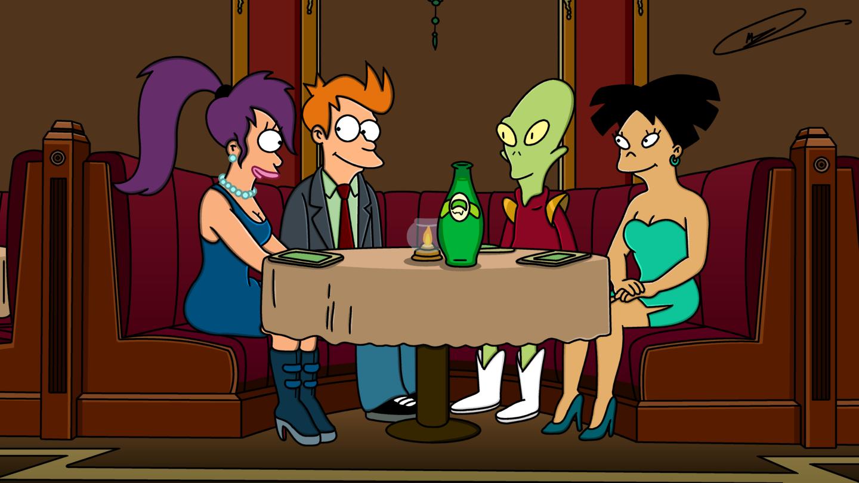Futurama online dating