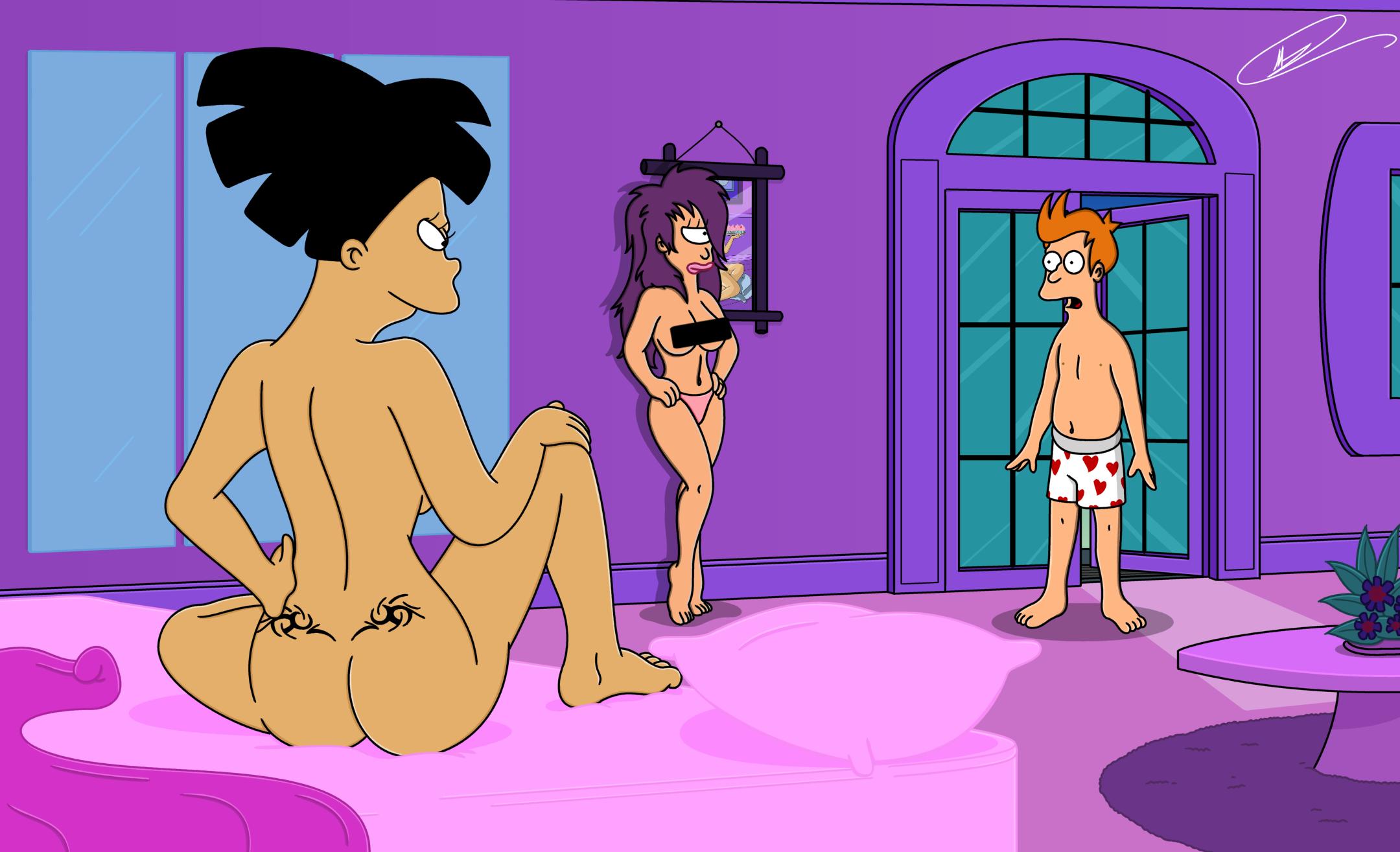 Tandon pusy amy from futurama naked moore