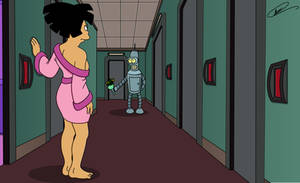 Amy and Bender - Eagerly Awaiting