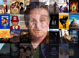 A Tribute to Robin Williams by Spider-Matt