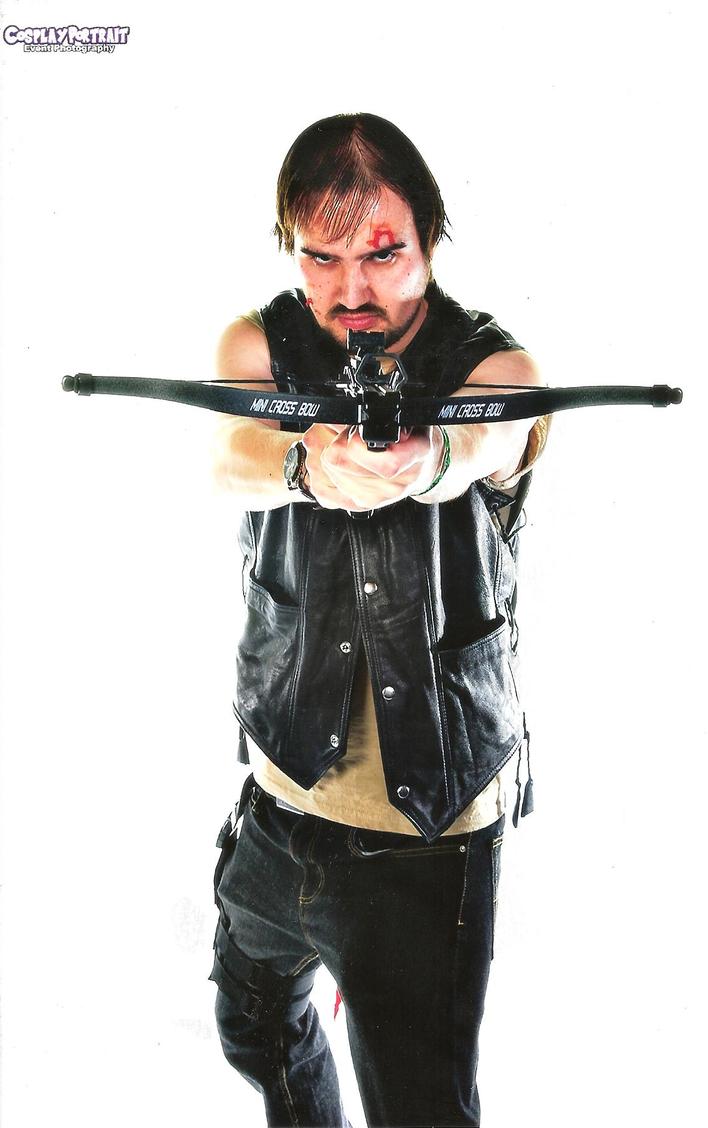 Daryl Dixon Cosplay 02 by Spider-Matt