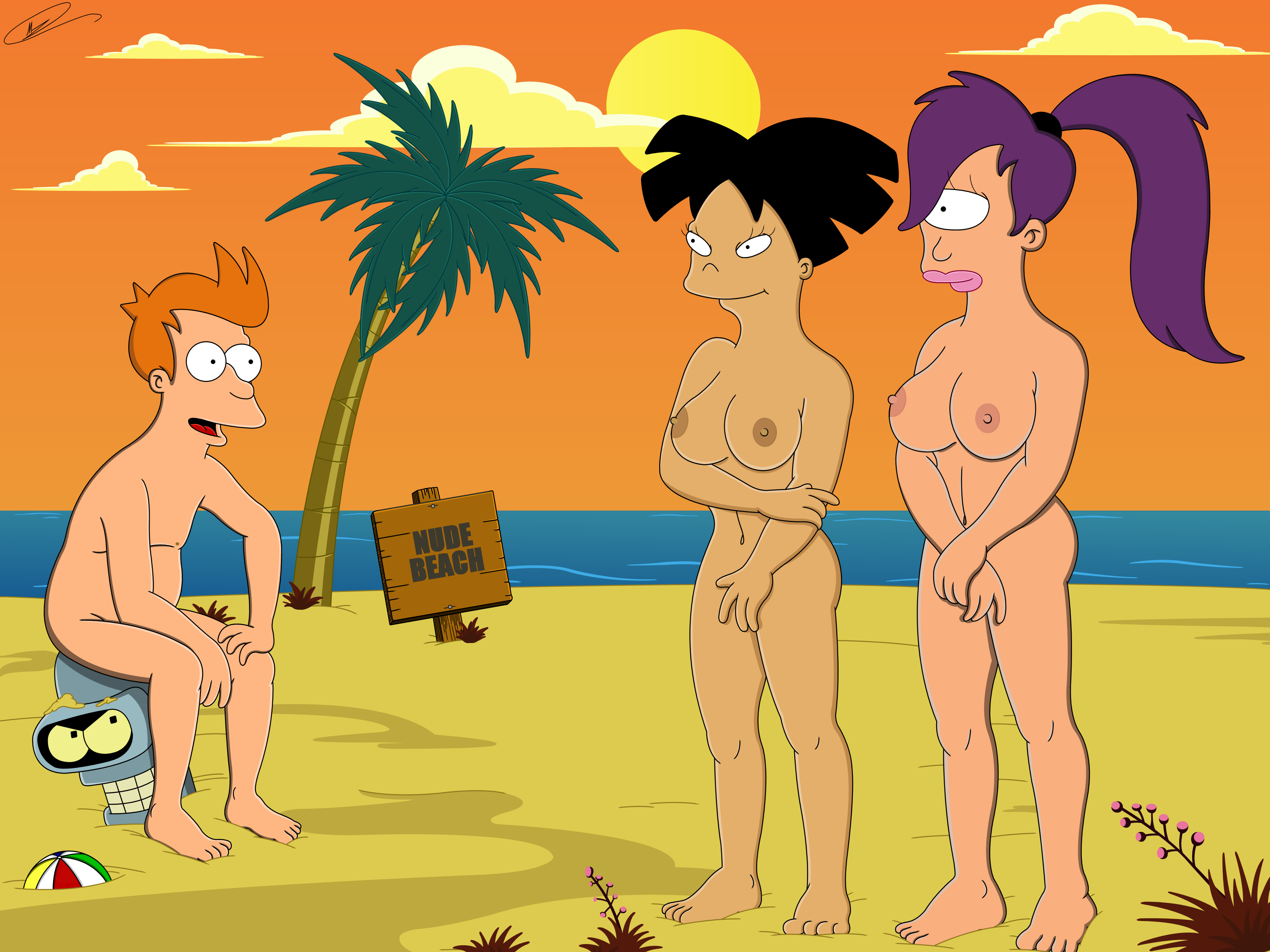 from Esteban futurama amy porn boo