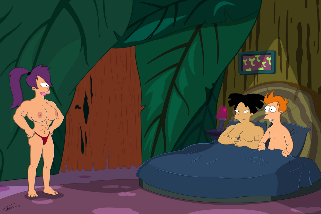 Futurama - Shes Gonna Do Both of Us UNCENSORED by Spider-Matt