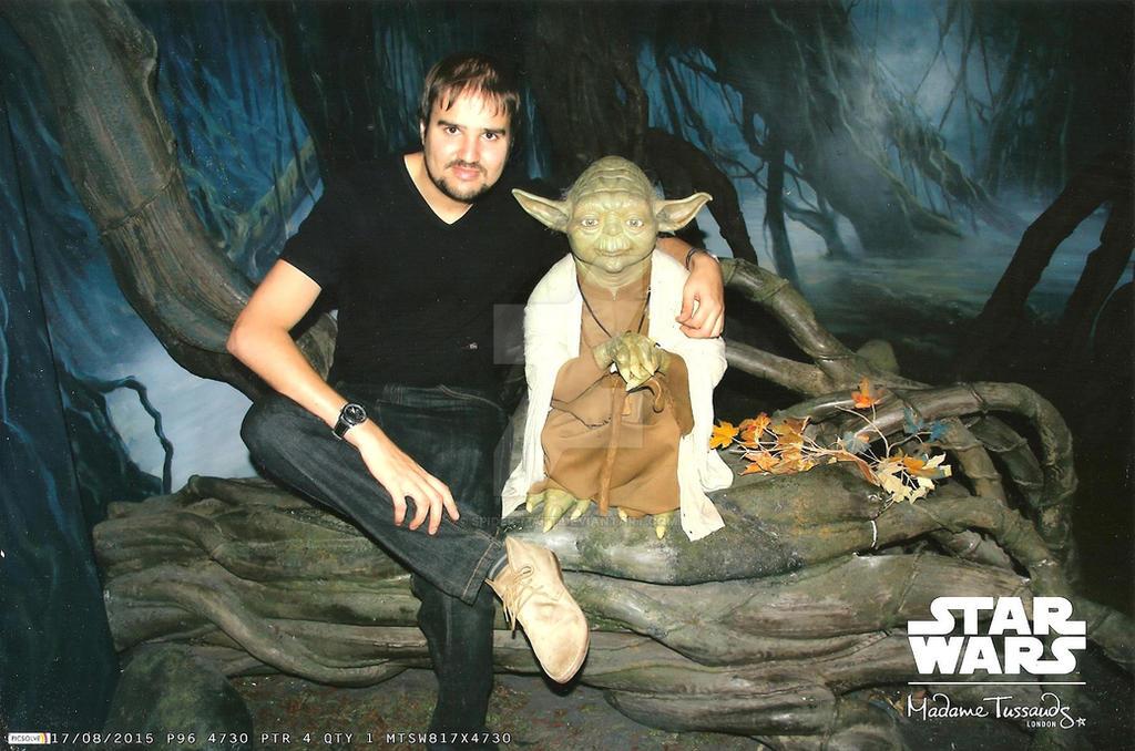 Spider-Matt and Yoda by Spider-Matt