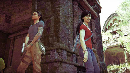 Uncharted: The Lost Legacy - Take Cover by Spider-Matt