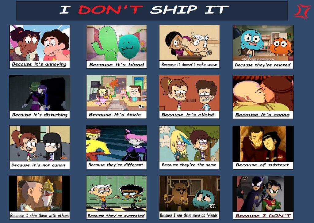 I Don't Ship It
