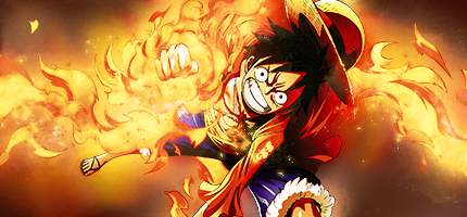 Luffy signature by carolgg on DeviantArt