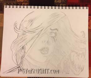 Face of Melinda by PSYaKNIGHT