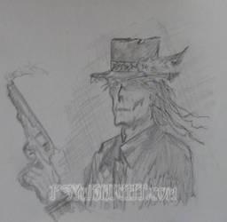Gunslinger by PSYaKNIGHT