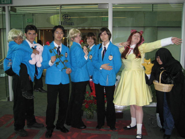 Игру Ouran Host Club