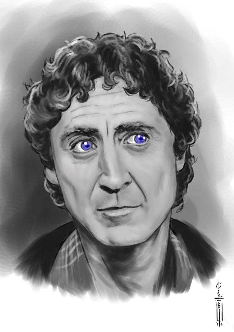 Gene Wilder by EmiAlvarez