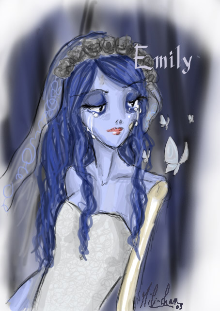 Fan art Emily - Corpse Bride by Mili-chan on DeviantArt