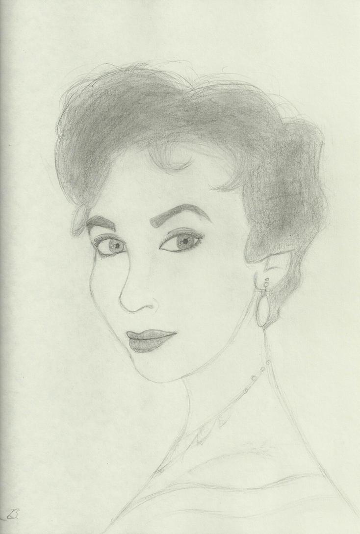 Elizabeth Taylor by Niktu12