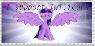 Twilicorn Stamp by MightyMewtron