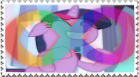 Autistic Twilight Sparkle Stamp by MightyMewtron
