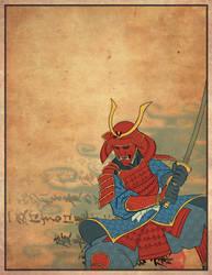 Samurai by seanwthornton