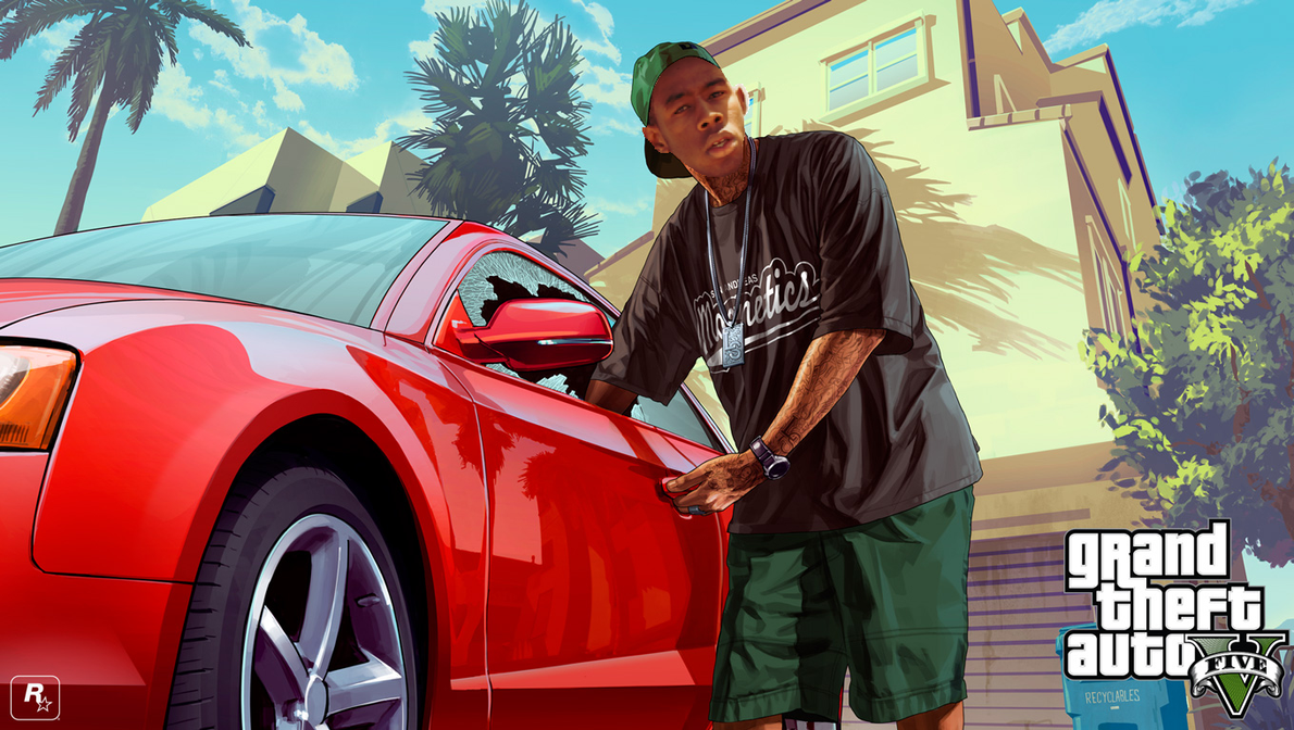 Grand Theft Auto V Tyler The Creator Wallpaper By