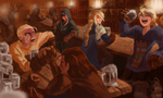 Final Fantasy Tactics - Sometime along the journey by Hozure
