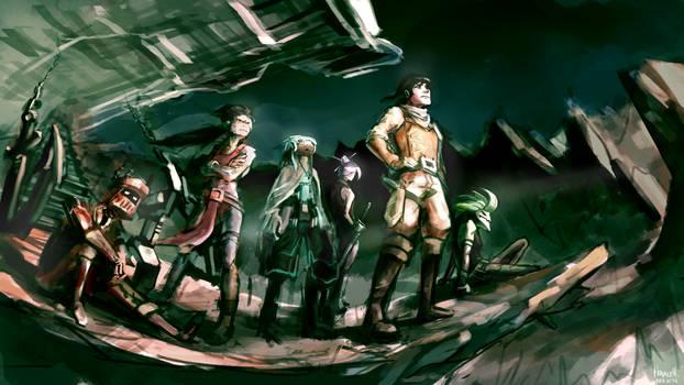 Helios 5 Crew