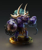 7-3 Alistar, the Minotaur by Hozure