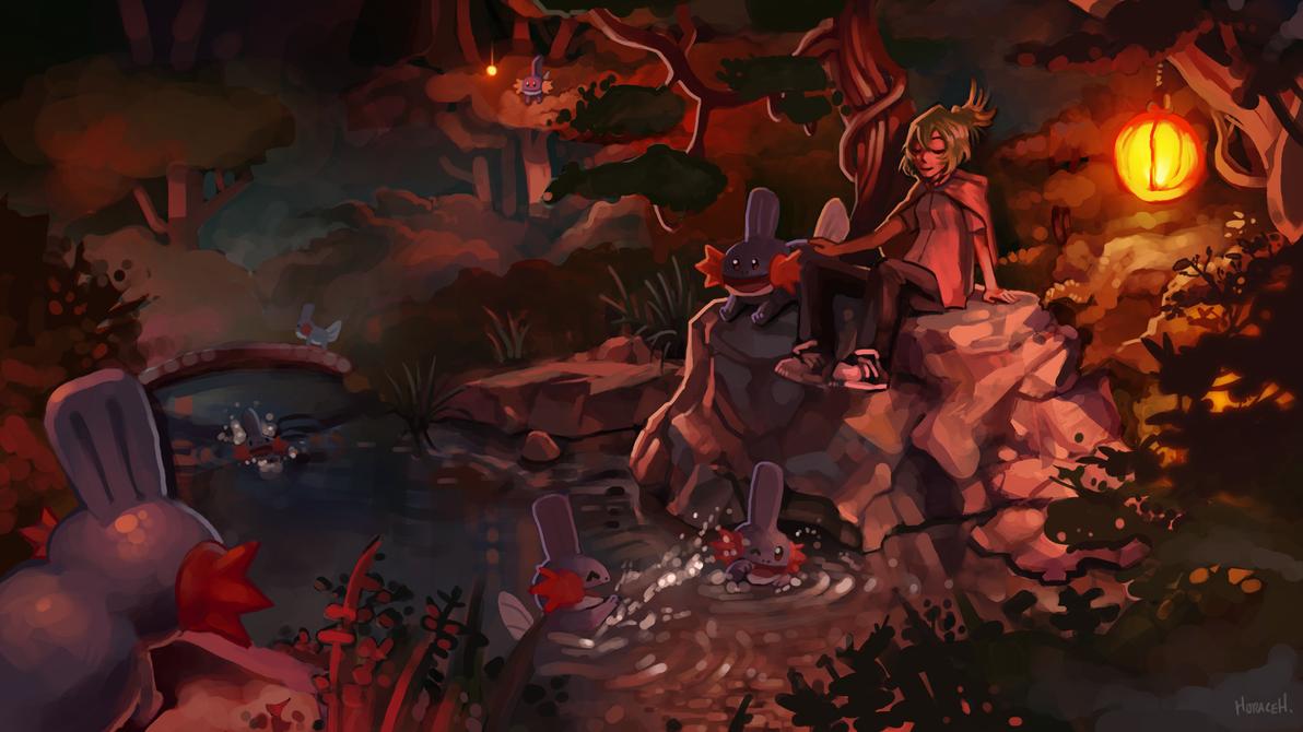 Mudkip Pond by Skence