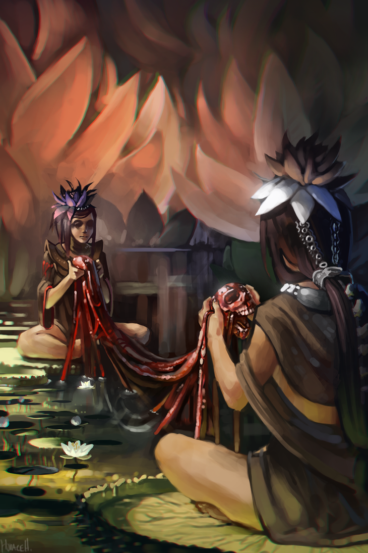 Lily Ritual by Skence