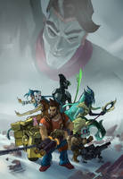 League of Borderlands 2 by Hozure