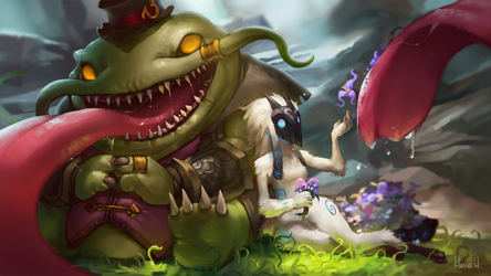 Tahm x Kindred