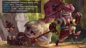 Your team has slain the Dragon
