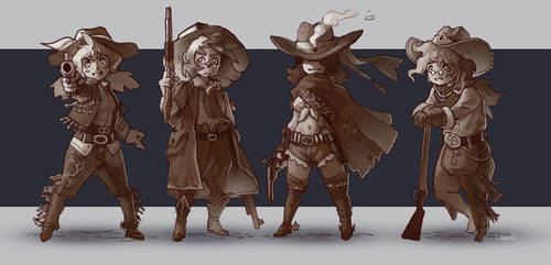 Pseudo Cow People by Hozure