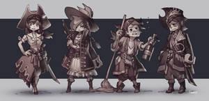 Pseudo Pirates