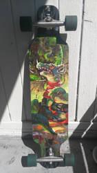Longboard Design Finished by Hozure