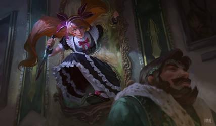 405_Maid Painting