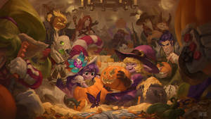 The Great Pumpkin Carving Festival by Hozure
