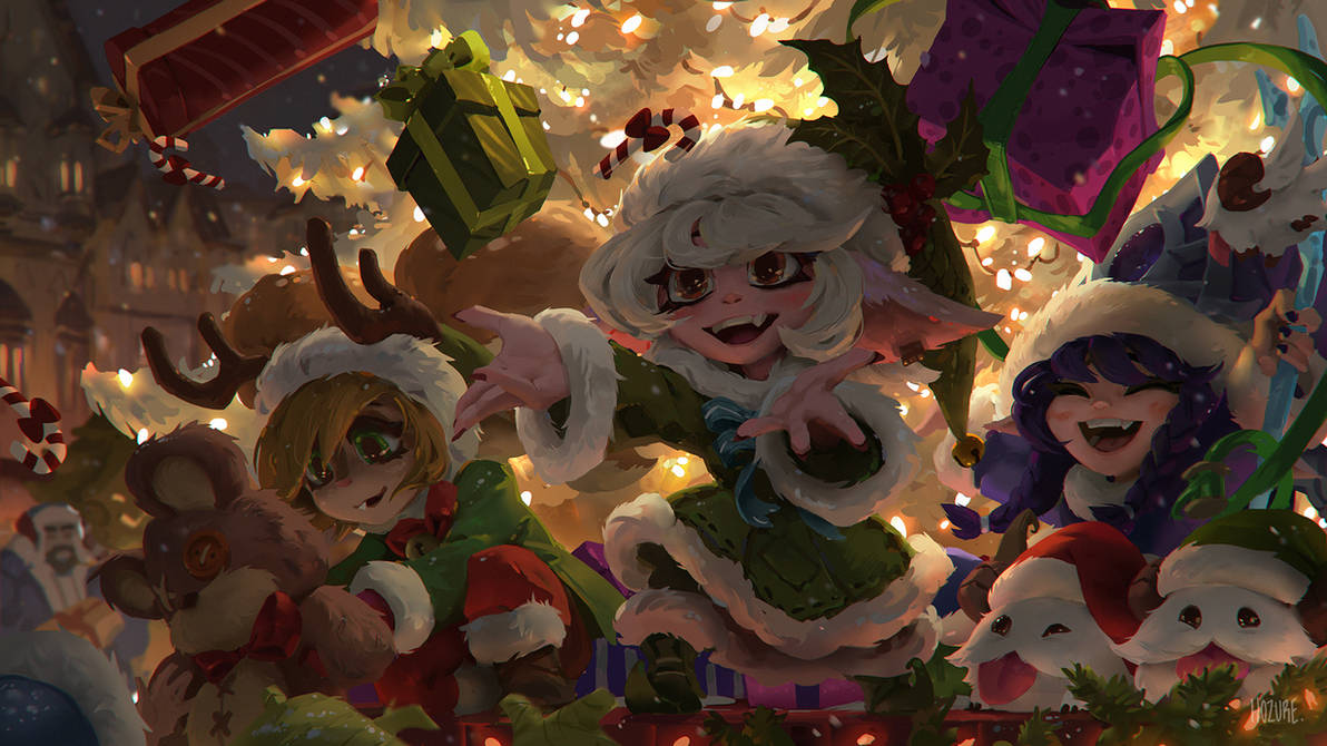 484 Christmas2018 by Hozure