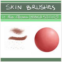 5 Skin Brush for Manga Studio 5/CLIP Studio Paint by MissChroma