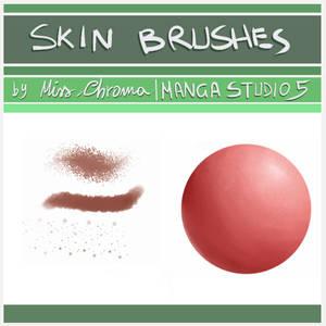 5 Skin Brush for Manga Studio 5/CLIP Studio Paint
