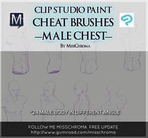 Cheat brushes for Clip Studio Paint/ Manga Studio by MissChroma