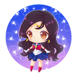 Chibi Commission dress like Sailor Moon