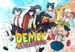 Demon academy Original webcomic by deemdart