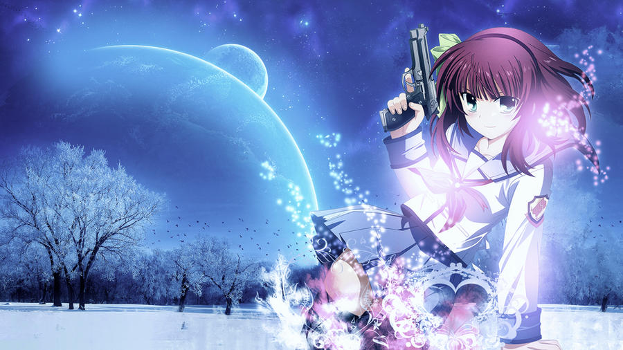 Wallpaper angel beats full hd by sl4ifer on deviantart wallpaper angel beats full hd by sl4ifer voltagebd