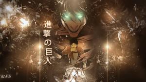 Wallpaper Shingeki no Kyojin FULL HD