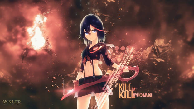 Wallpaper Kill la Kill FULL HD