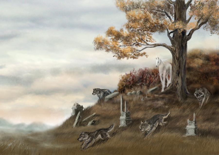 Autumn dream by AntaresWolf