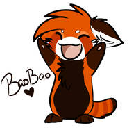 BaoBao chibi by TitterTatl