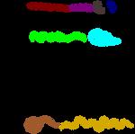 Brushes #2 by PhoenixOriginal