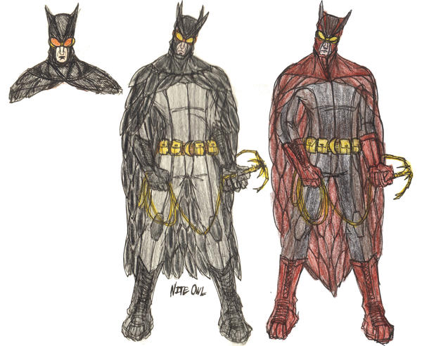 nite owl concept by kaneburton ...  sc 1 st  DeviantArt : night owl costume  - Germanpascual.Com
