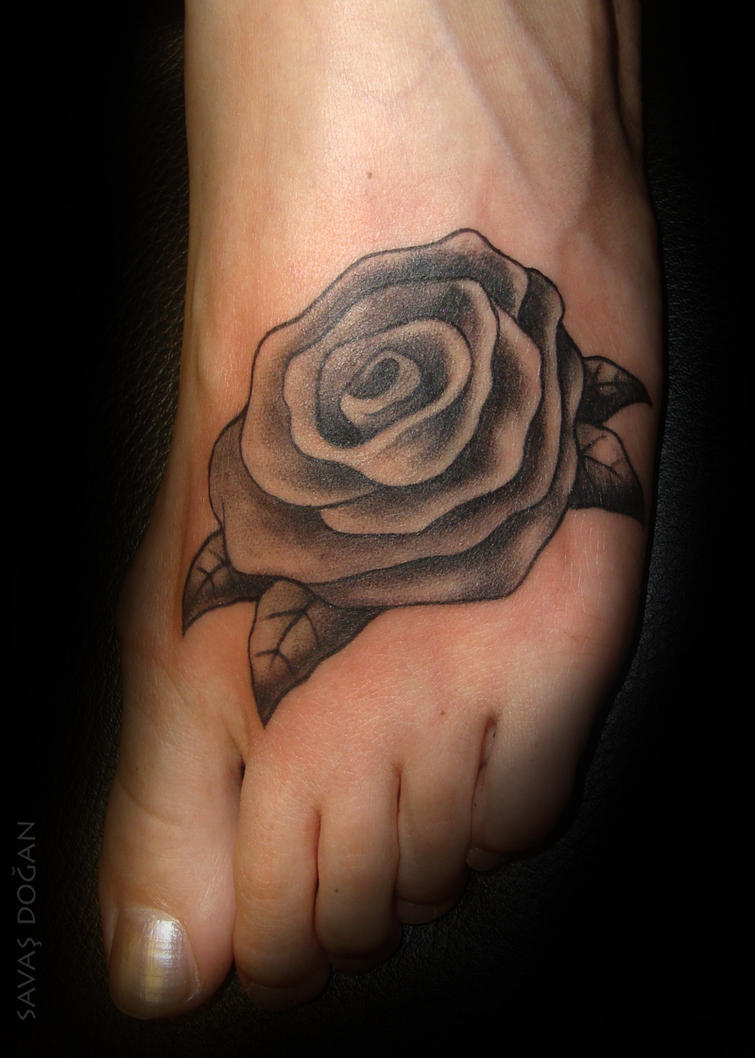 rose tattoo by moviemetal3 on deviantart. Black Bedroom Furniture Sets. Home Design Ideas
