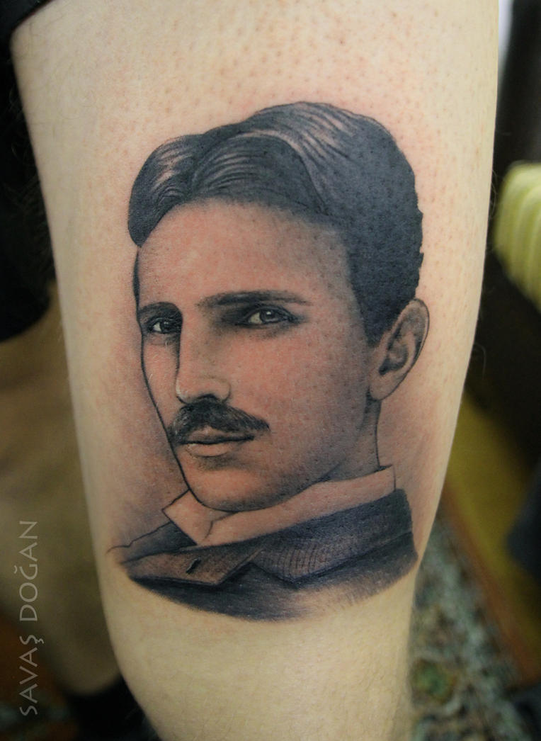 Nikola Tesla by Moviemetal3